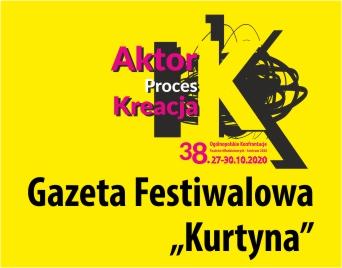 Gazetka festiwalowa Kurtyna