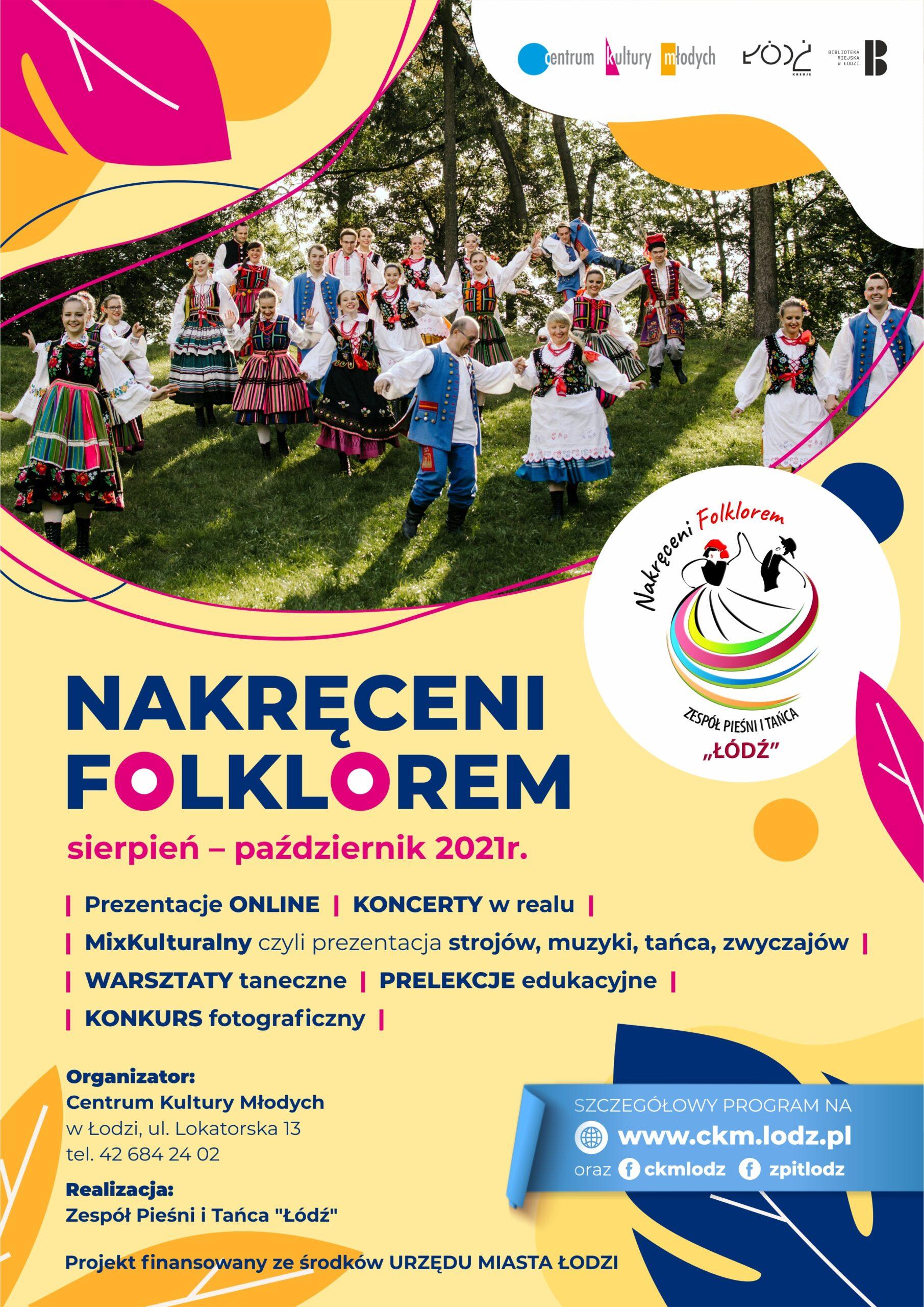 plakat zakreceni folklorem