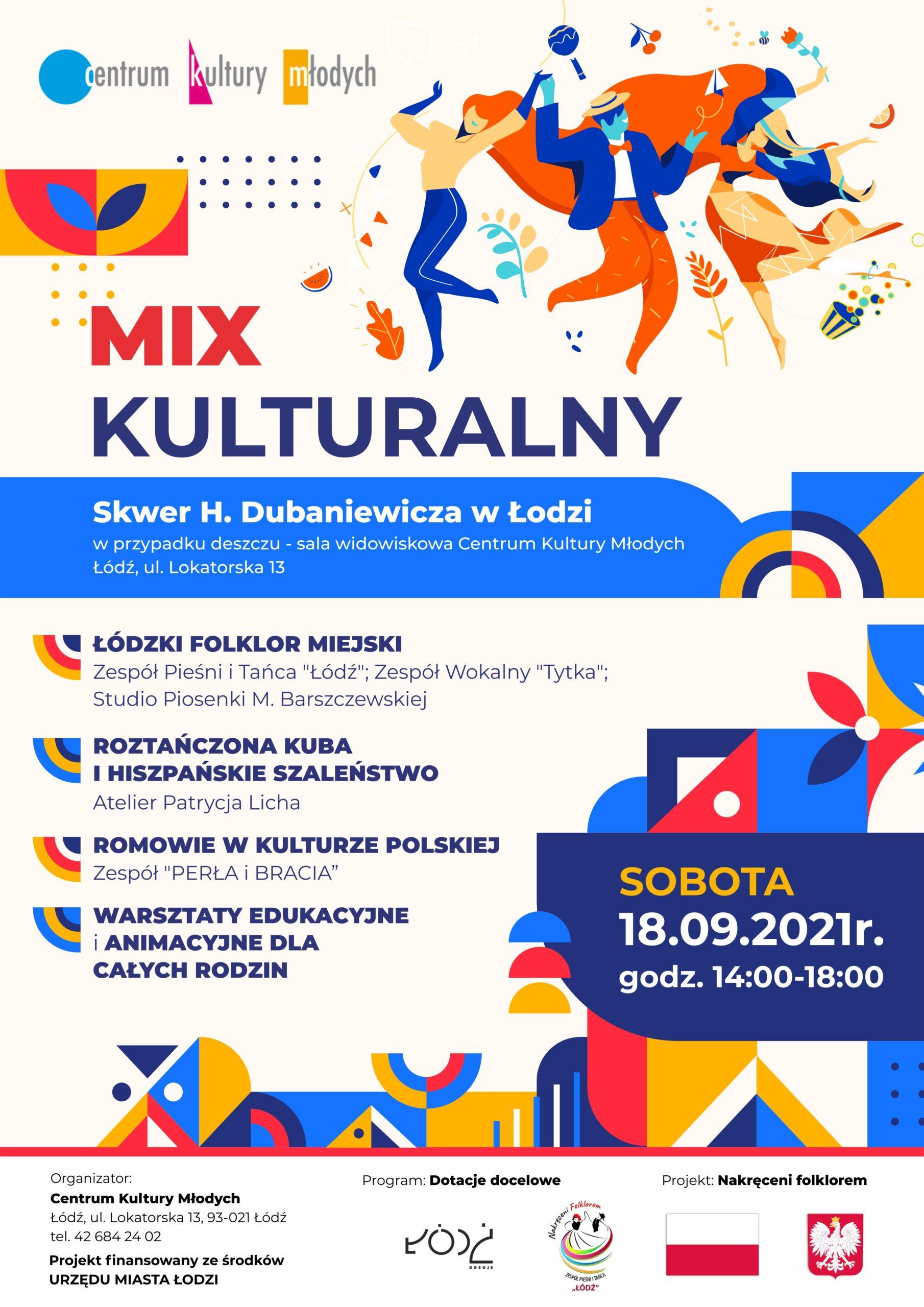 mix kulturowy plakat