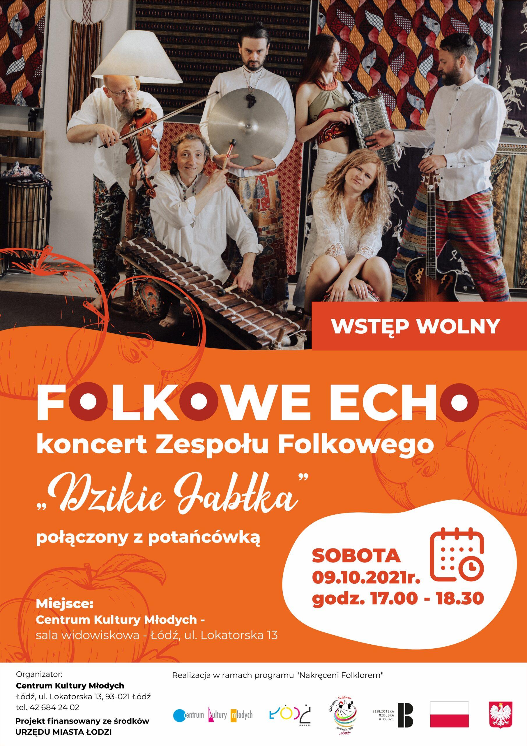 Folkowe Echo - plakat