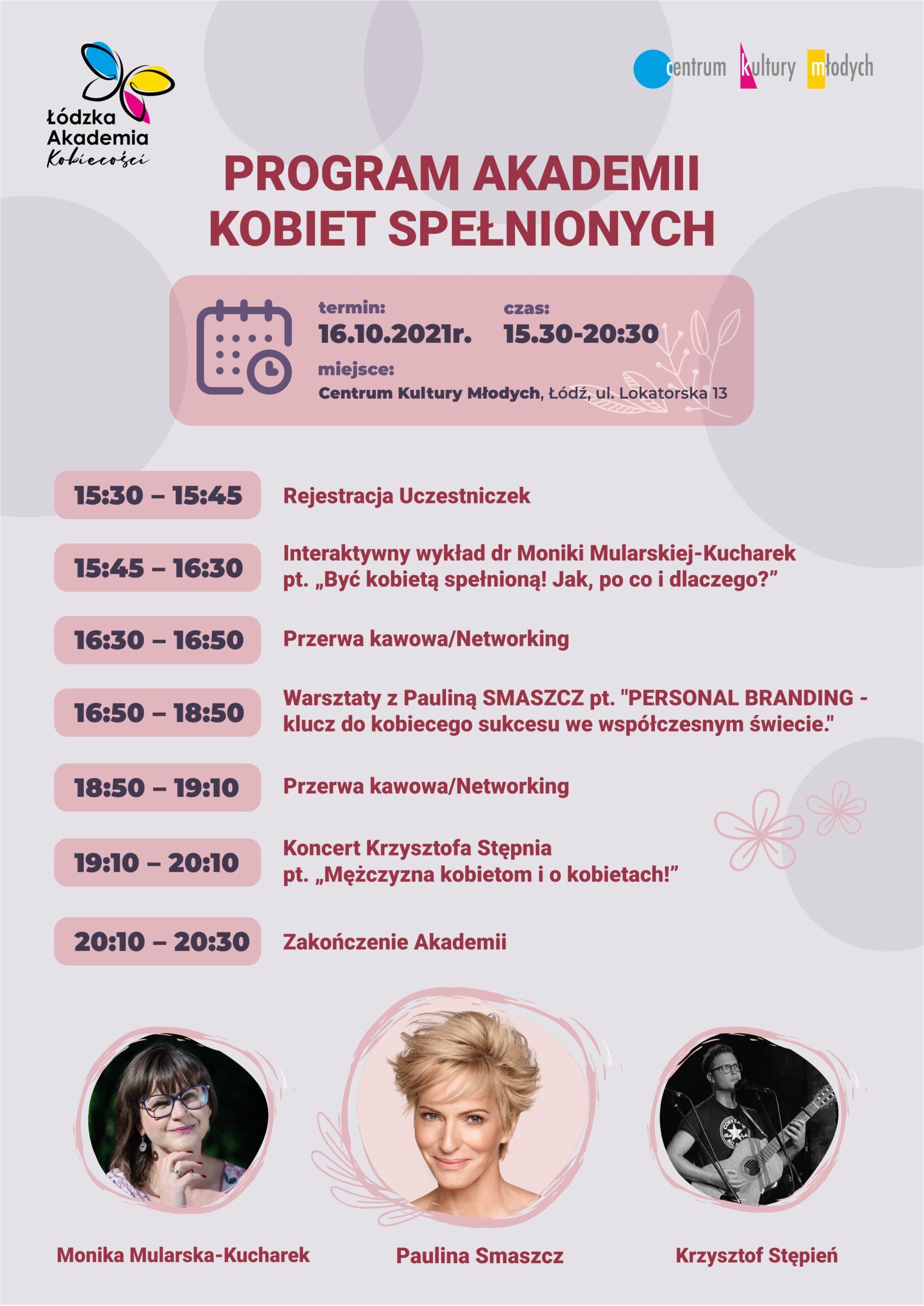 Akademia Kobiet Spełnionych - plakat
