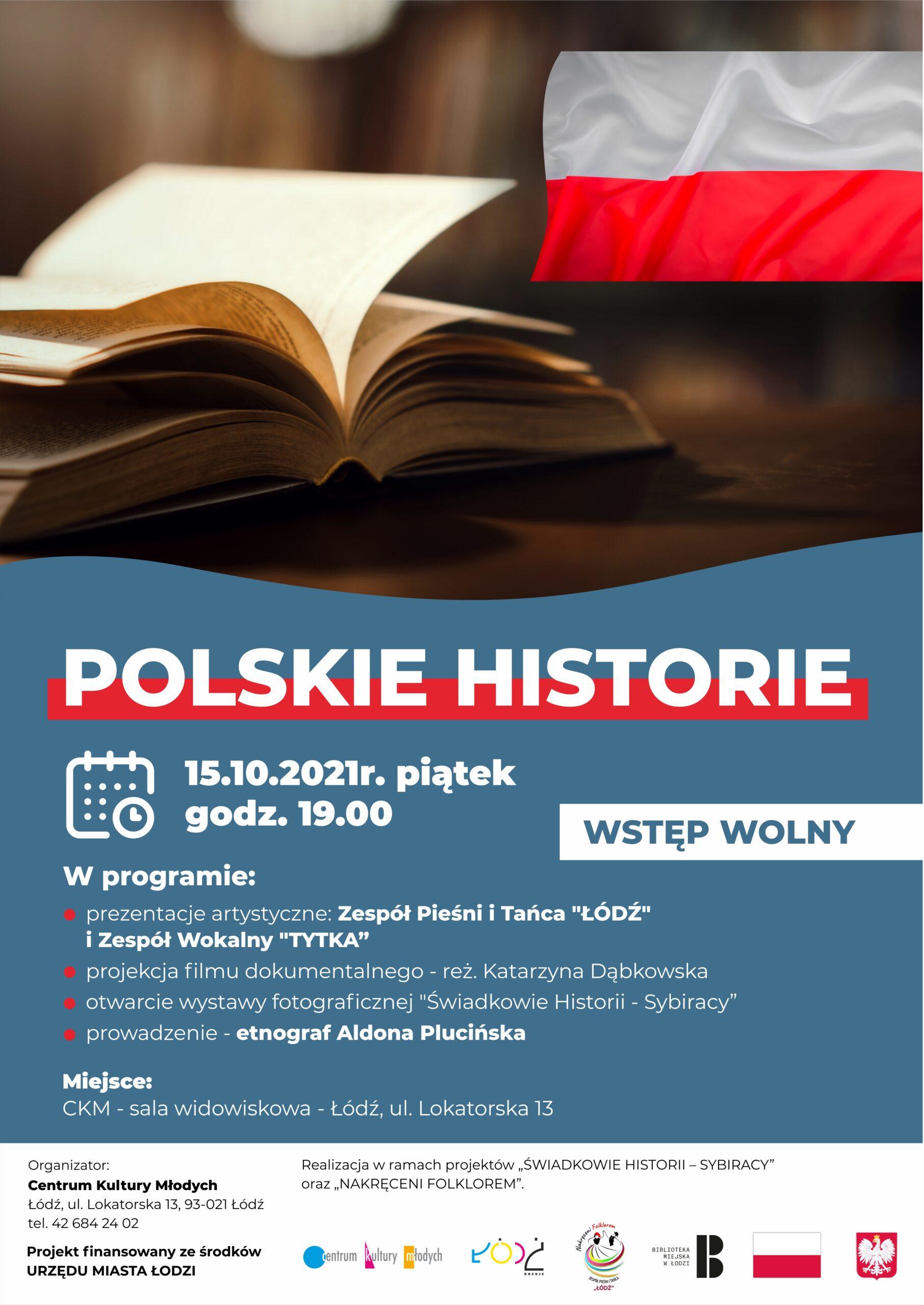 Polskie historie - plakat